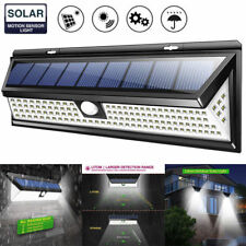 118LED Solar Powered Outdoor Lamp Garden PIR Motion Sensor Waterproof Light Hot
