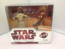 Star Wars Legacy Collection 2009 Geonosis Arena Showdown Set 3 Of 6.