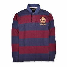 Ralph Lauren Herren Polo Poloshirt Shirt Classic Gr.M CustomFit Longsleeve 98756
