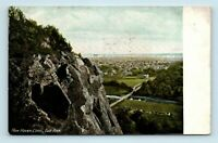 New Haven, CT - c1908 AERIAL VIEW OF CITY FROM EAST ROCK - POSTCARD - L7