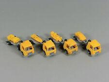 AUTOS: Transporter mit Auflieger EU 1987 - Komplettsatz orange/silber
