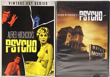 ALFRED HITCHCOCK'S PSYCHO (VINTAGE ART SERIES) DVD NEW / SEALED WITH SLIPCOVER