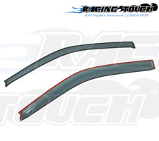 For Toyota Yaris Coupe 07-11 Ash Grey Out-Channel Window Visor Sun Guard 2pcs