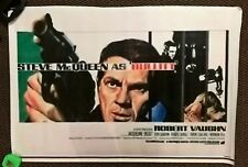 BULLITT    PANAFLEX POSTER ,THIS COPY IS A LITTLE BLURRED- 37 X 25 INCHES