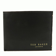Ted Baker Antonys Leather Wallet Chocolate Brown