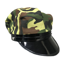 Army Unisex Men Women Military One Size Camouflage Fancy Dress Adjustable Cap
