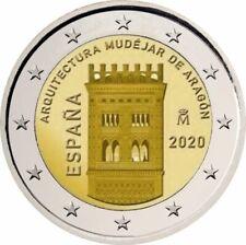 2€ Gedenkmünze Spanien 2020 Aragón Vorverkauf