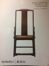 Sotheby's; Ming Furniture - The Dr S.Y. Yip Collection 7 October 2015 Hong Kong