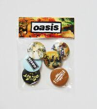 More details for oasis dig out your soul badge set **new**  (6 x badges)