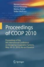Proceedings of COOP 2010 : Proceedings of the 9th International Conference on...