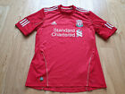 Mens adidas Liverpool MEIRELES #4 Home football shirt 2010 - 2012 Size M