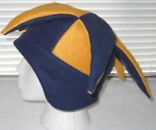 NEW fleece jester snowboard hat navy blue & gold