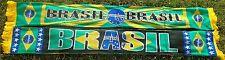 Brasilien Schal 3 + BRASIL + WM 2014 + neu+100 % Acryl+  Brasil Seleção Ordem