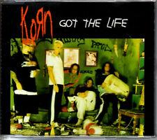 KORN Got the Life 4TRX MIXES GERMAN CD BEASTIE BOYS DJ SPOOKY w/ ICE CUBE SEALED