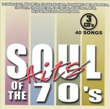 Soul Hits of the '70s [Sony Box Set] by Various Artists CD,Oct-2002 3 Discs NEW