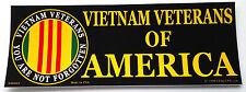 Vietnam Veterans Of America Military Bumper Sticker Bm0069 Ee