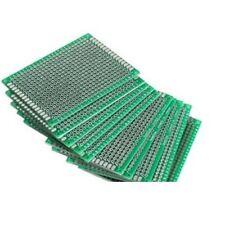 10PCS Double Side Prototype PCB Tinned Universal Breadboard 5x7 cm 50mmx70mm FR4