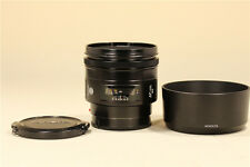 MINT- Minolta AF 85mm F/1.4 Lens For Minolta w/ Hood