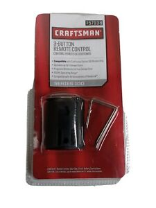 NEW! Sears Craftsman 3-Button Garage Remote Control for Series 100 # 9-57938
