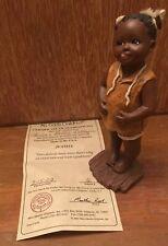 All Gods Children ~Juanita~ Collectible Figurine No.1618 Martha Root Coa Ed #2