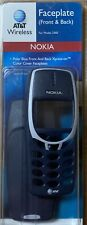 NOKIA 3360 DARK BLUE CELL PHONE FACEPLATE FRONT & BACK COVERS PLUS KEYPAD NEW