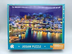 1000 pieces Jigsaw Puzzle Harbour City 70cm x 50cm - Aussie Outlet Online