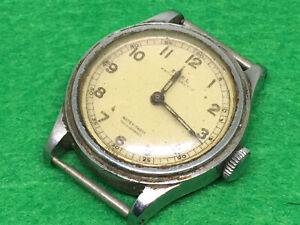 Mitary Ebel Stainless Steel Swiss 17 Jewels Cal 99 Watch Head