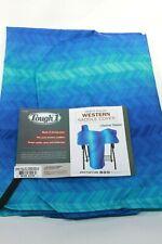 Tough 1 Blue Chevrons Style Heavy Denier Nylon Western Saddle Cover 61-7906