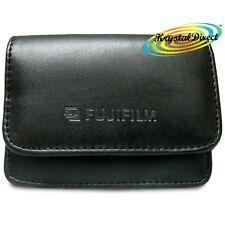 Fujifilm appareil photo cas doux en cuir noir pour FinePix A345 A350 360 A370 zoom