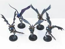 SCOURGE SQUAD Painted Plastic Drukhari Dark Eldar Scourges Warhammer 40K Army m3