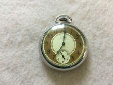 Tower Mechanical Wind Up Vintage Pocket Watch - Runs Slow
