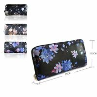 Women's Large Designer Style Purse With Floral Print Ladies Purse