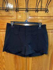 Women's RAMPAGE Black Shorts SIZE 5 Chino Mini Shorts Casual