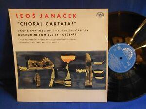 LEOS JANACEK CHORAL CANTATAS 50680 SUPRAPHON 1966 EXC+