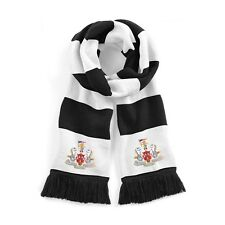 Newcastle United Traditional 1960's Football Scarf Embroidered Logo