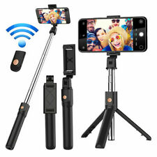 New Extendable Selfie Stick Wireless Bluetooth Remote Tripod For iPhone Android
