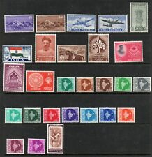 India 1947-1966. Collection of 27.MLH/MNH.Very Fine.