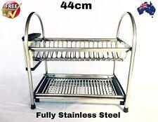 Dish Rack 2-Tier Stainless Steel Dish Drainer Rack....
