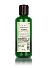 Khadi Herbal Shampoo Neem Sat Herbal Product Natural Goodness 210ml