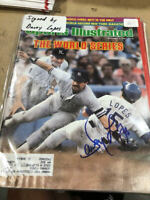 Davey Dave Lopes Los Angeles Dodgers Autographed Signed Sports Illustrated COA