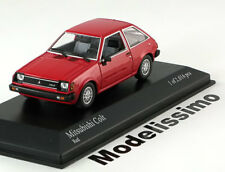 1:43 Minichamps Mitsubishi Colt 1978 red