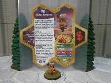 Heroscape Custom Mister Mxyzptlk Double Sided Card & Figure w/ Sleeve DC