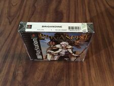 Brigandine: The Legend of Forsena (PlayStation 1, PS1) Brand New -Factory Sealed
