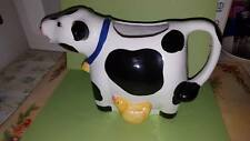 Coco Dowley Cow Pitcher; No Lid; Made in Taiwan