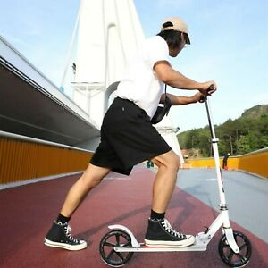 🔥BIG Two-Wheel Adult Child Commuter Scooter Kick Push Foldable AU STOCK 2021