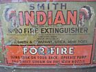 Vintage 1933 Smith Indian Brass backpack Fire Extinguisher pump Sprayer Air Cool
