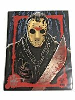 BAM BOX HORROR EXCLUSIVE FRIDAY THE 13th JASON VOORHEES 8x10 LTD TO 750 C.O.A