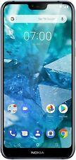 Nokia 7.1 32GB Android One 10 Unlocked Blue Smart Phone Dual-SIM Free TA-1095