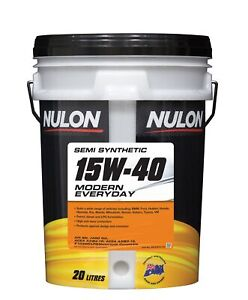 Nulon Semi Synthetic Modern Everyday Engine Oil 15W-40 20L ME15W40-20 fits Ma...