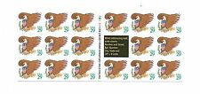 #2595a 29c Brown Eagle & Shield B1111-2 Self Adhesive Convertible Booklet (A)